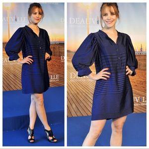 Stella McCartney 40 4 Striped Shirt Dress Shift